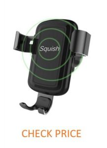 Squish Wireless Charger Car Mount