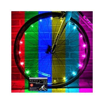 Activ Life LED Bike Wheel Lights with Batteries