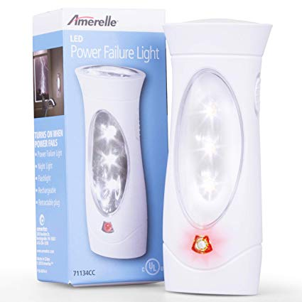 Amerelle Emergency Lights for Home