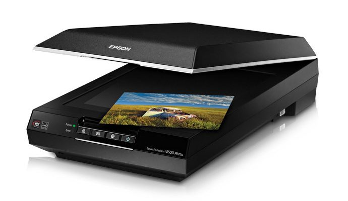 Epson Perfection V600 Color Photo Scanner