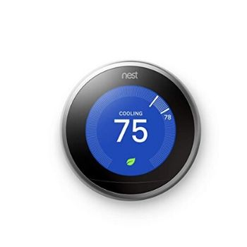 The Nest 'Smart Learning' 3rd Generation Thermostat