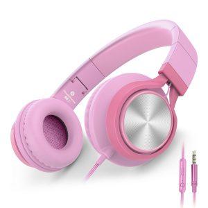 AILIHEN C8 Girls Headphones with Microphone