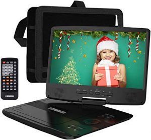 HD JUNTUNKOR 12.5″ Portable DVD Player