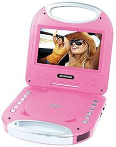 Sylvania 7″ Portable DVD Player