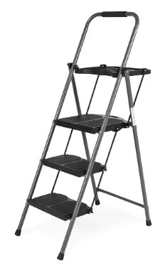 Best Choice Folding 3 Step Stool Ladder