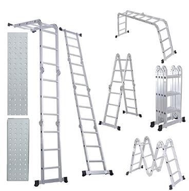 Comie Aluminum Folding Step Ladder