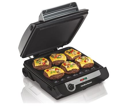 Hamilton 3 in 1 Indoor Grill Machine